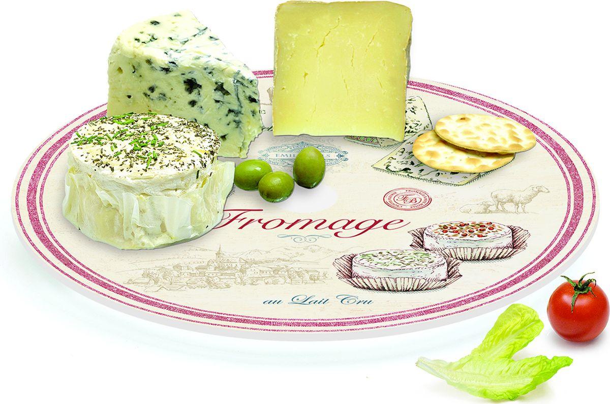 Блюдо для сыра Easy Life Fromage, EL-0441/FRMA, вращающееся, диаметр 32 см r2s