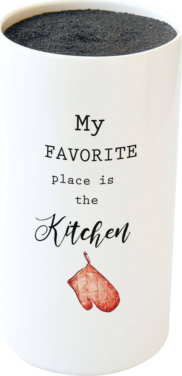 Подставка для ножей Easy Life Kitchen Elements, в подарочной упаковке r2s