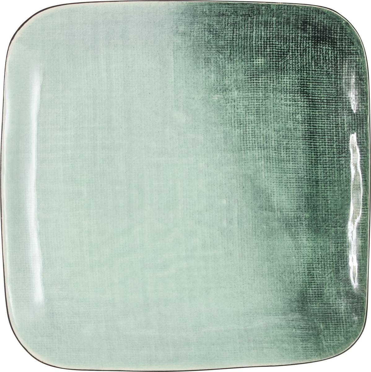 Тарелка Julia Vysotskaya Canvas, закусочная, квадратная, диаметр 21,5 см