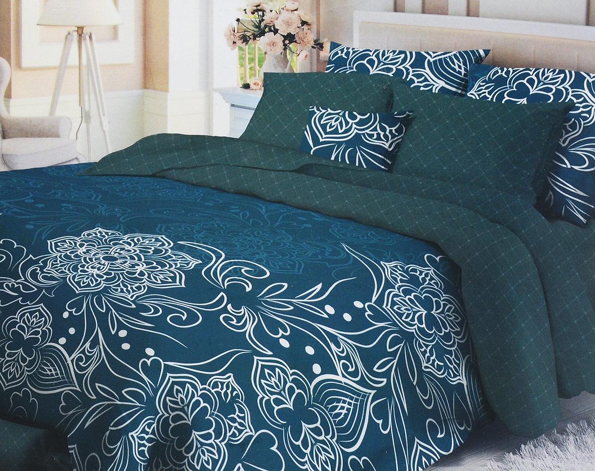 Комплект белья Verossa Tracery, 2-спальный, наволочки 70x70