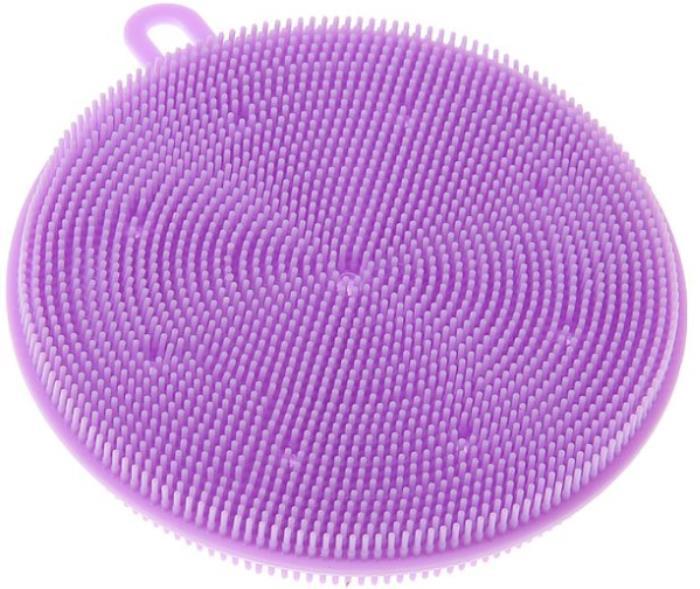Губка Fidget Go Прихватка, для горячих поверхностей, мытья посуды и овощей (многофункциональная щетка), сиреневый для животных класса обыкновенные губки характерно