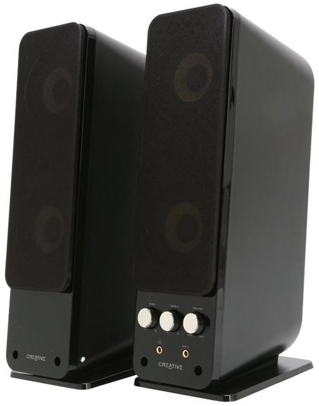 Компьютерная акустика Creative GigaWorks T40 Serie II 2.0, Black, 51MF1615AA000, черный