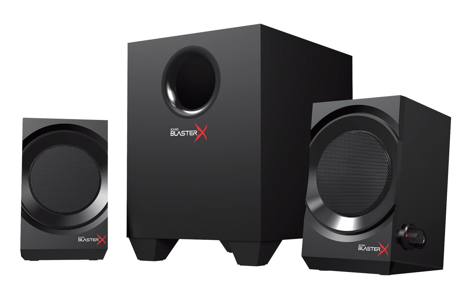 Компьютерная акустика Creative Sound BlasterX Kratos S3, Black
