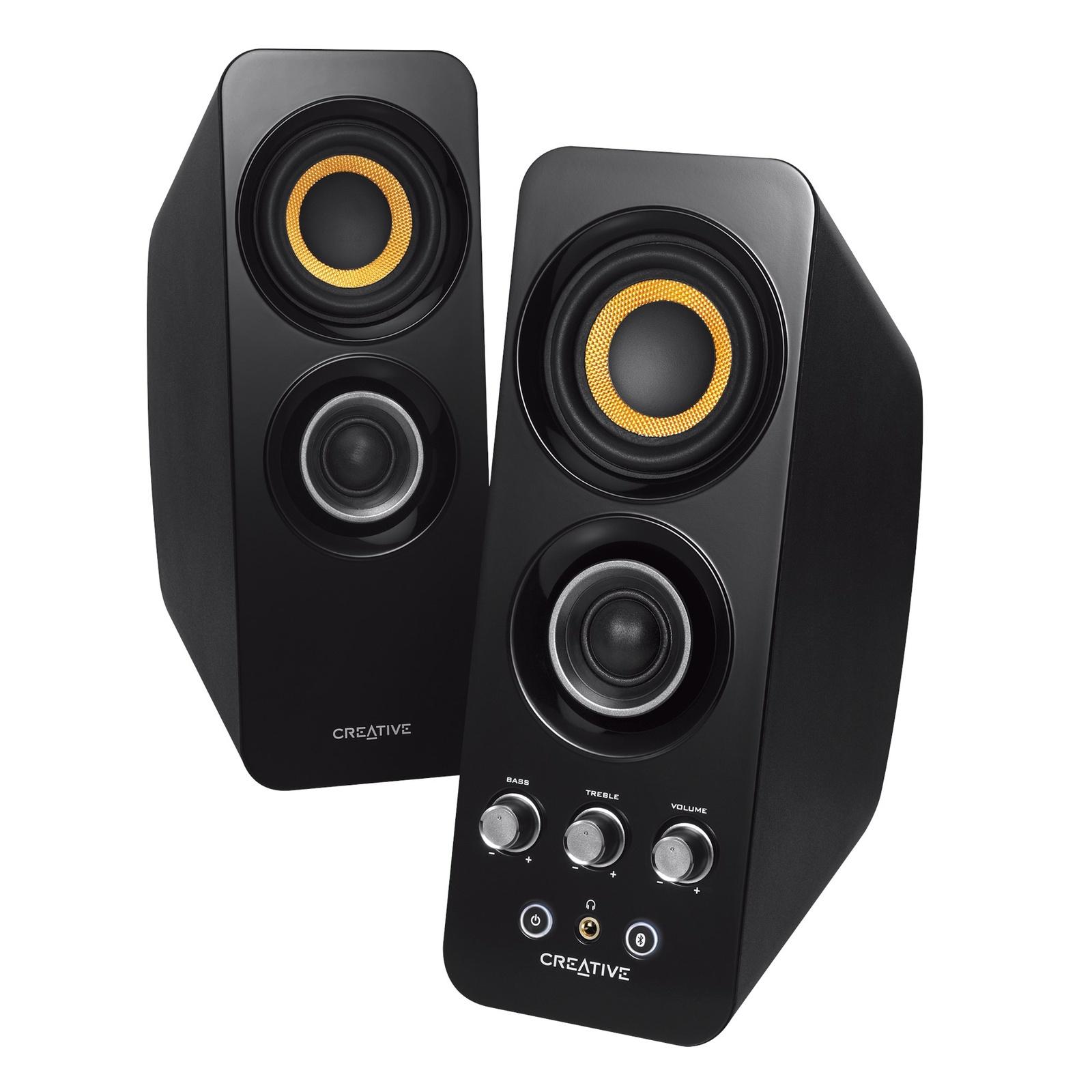 Компьютерная акустика Creative SIGNATURE T30W 2.0, Black, Wireless, черный акустическая система creative inspire t6300 5 1 black 51mf4115aa000 черный
