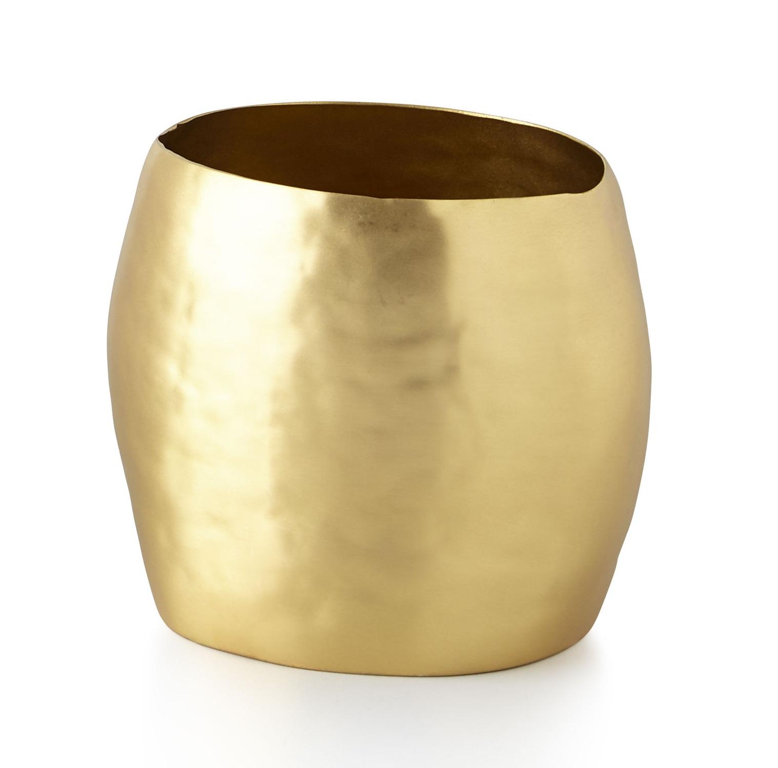 Стакан для ванной комнаты Kassatex Nile, ANL-TBH, золотой