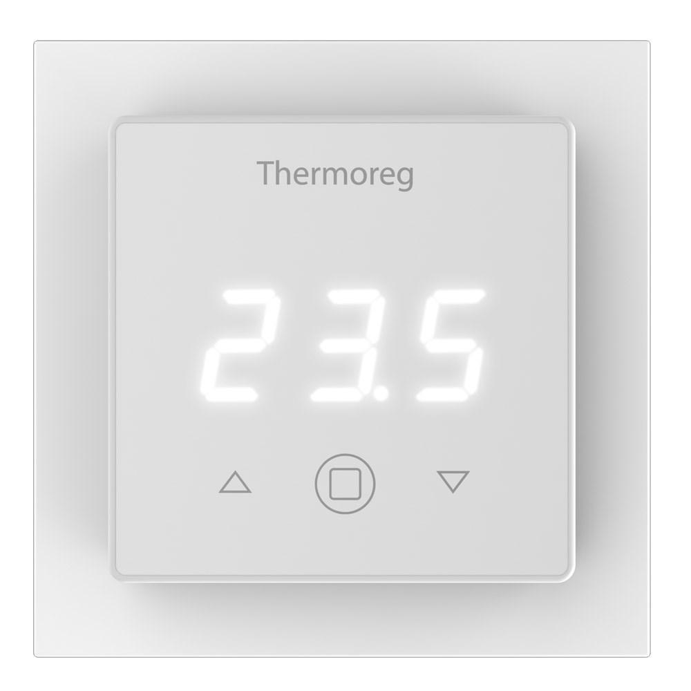 лучшая цена Терморегулятор теплого пола Thermo Терморегулятор Thermoreg TI 300, 7350049070858