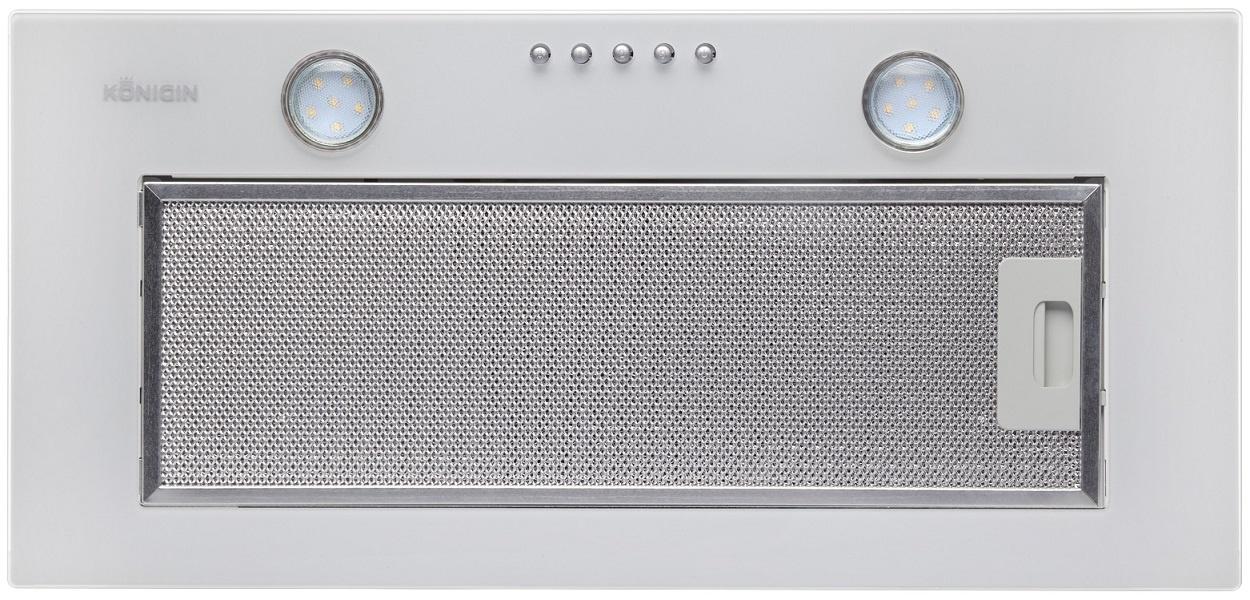 Вытяжка Konigin Skybox (White Glass 60), белый