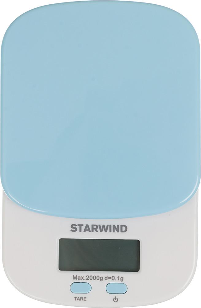 Кухонные весы Starwind SSK2156, Blue