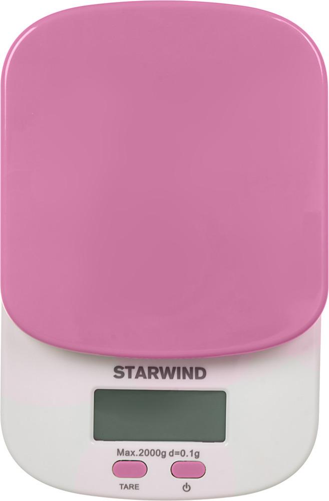Кухонные весы Starwind SSK2157, Pink