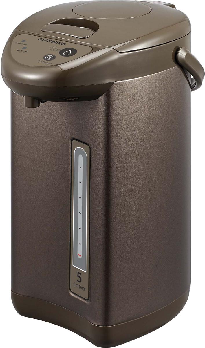 Термопот Starwind STP517, 750Вт, 1,5 л, Black, Brown утюг отзывы покупателей и рейтинг