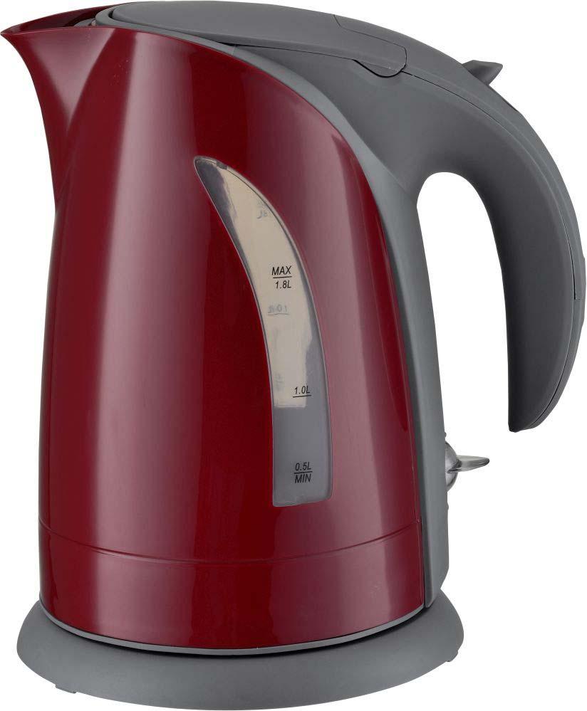 лучшая цена Чайник Sinbo SK 7392, 2200Вт, 1,8 л, Red