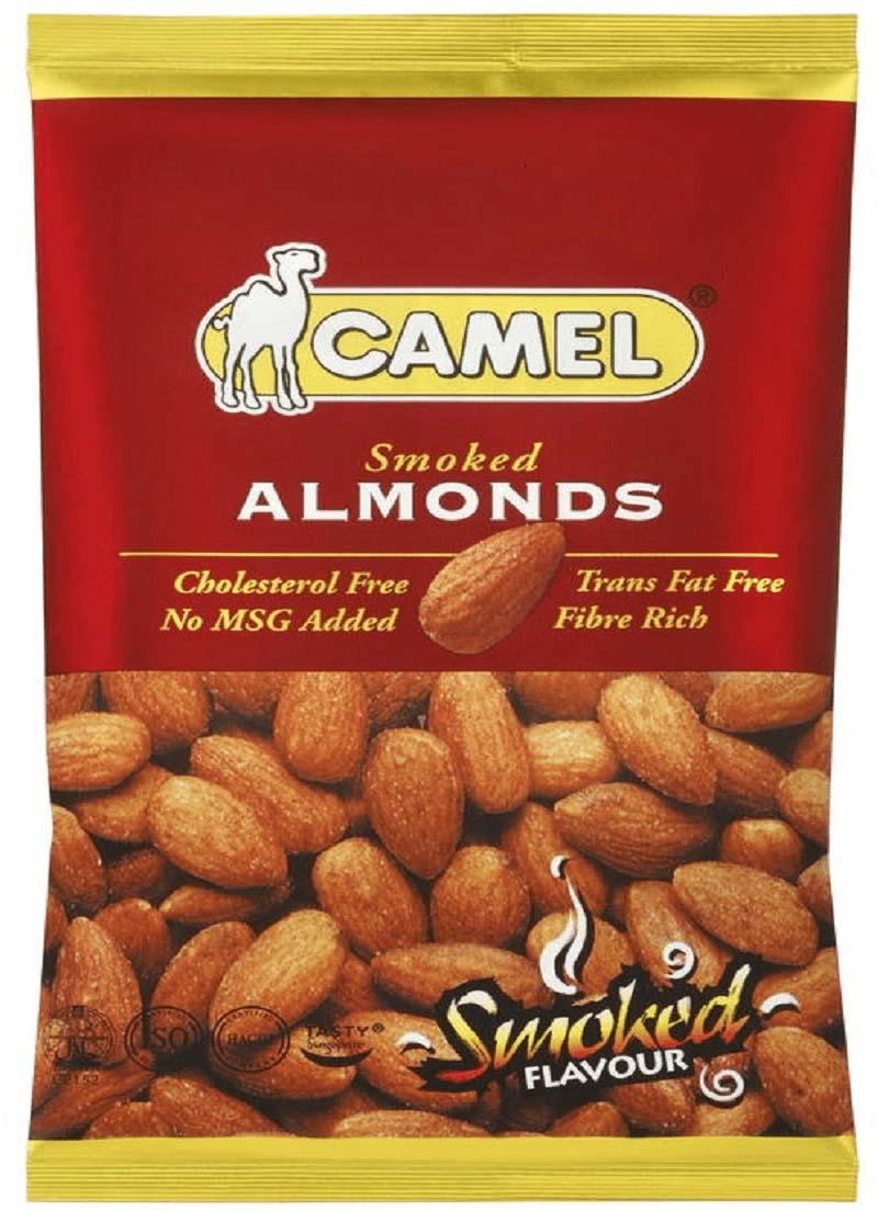 Миндаль жареный Camel Smoked Almonds, со вкусом копчения, 40 г