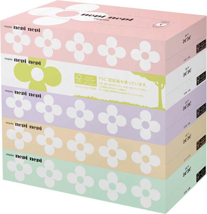цены Салфетки бумажные Nepia Nepi Nepi, 5 х 160 шт