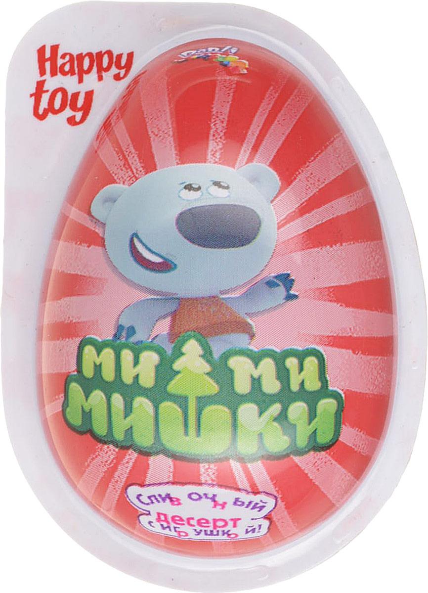 Пластиковое яйцо Данли Мимимишки, с игрушкой и десертом, 20 г