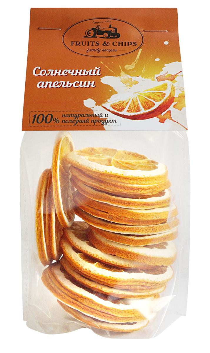 Апельсиновые чипсы Семушка Солнечный , 50 г