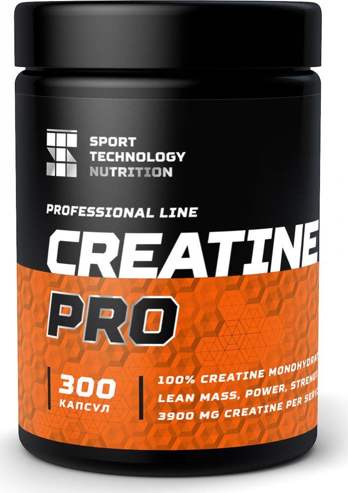 Креатин моногидрат Sport Technology Nutrition Creatine, 300 капсул dymatize nutrition моногидрат креатина dymatize creatine micronized 500гр