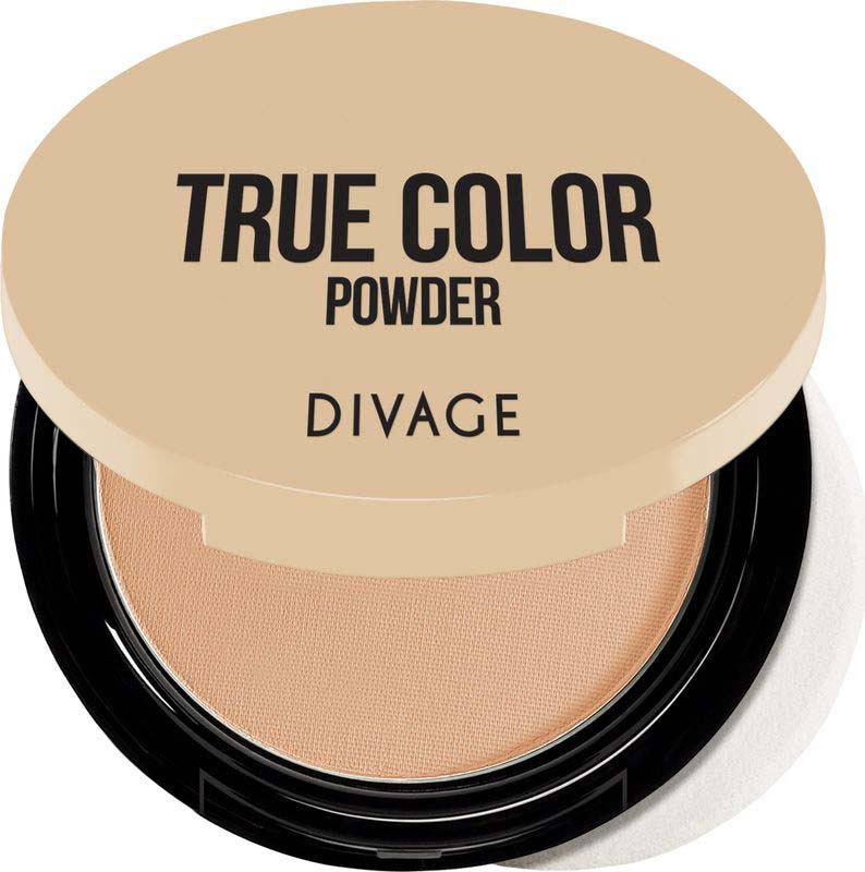 Divage Пудра компактная Compact Powder True Color, Тон №06