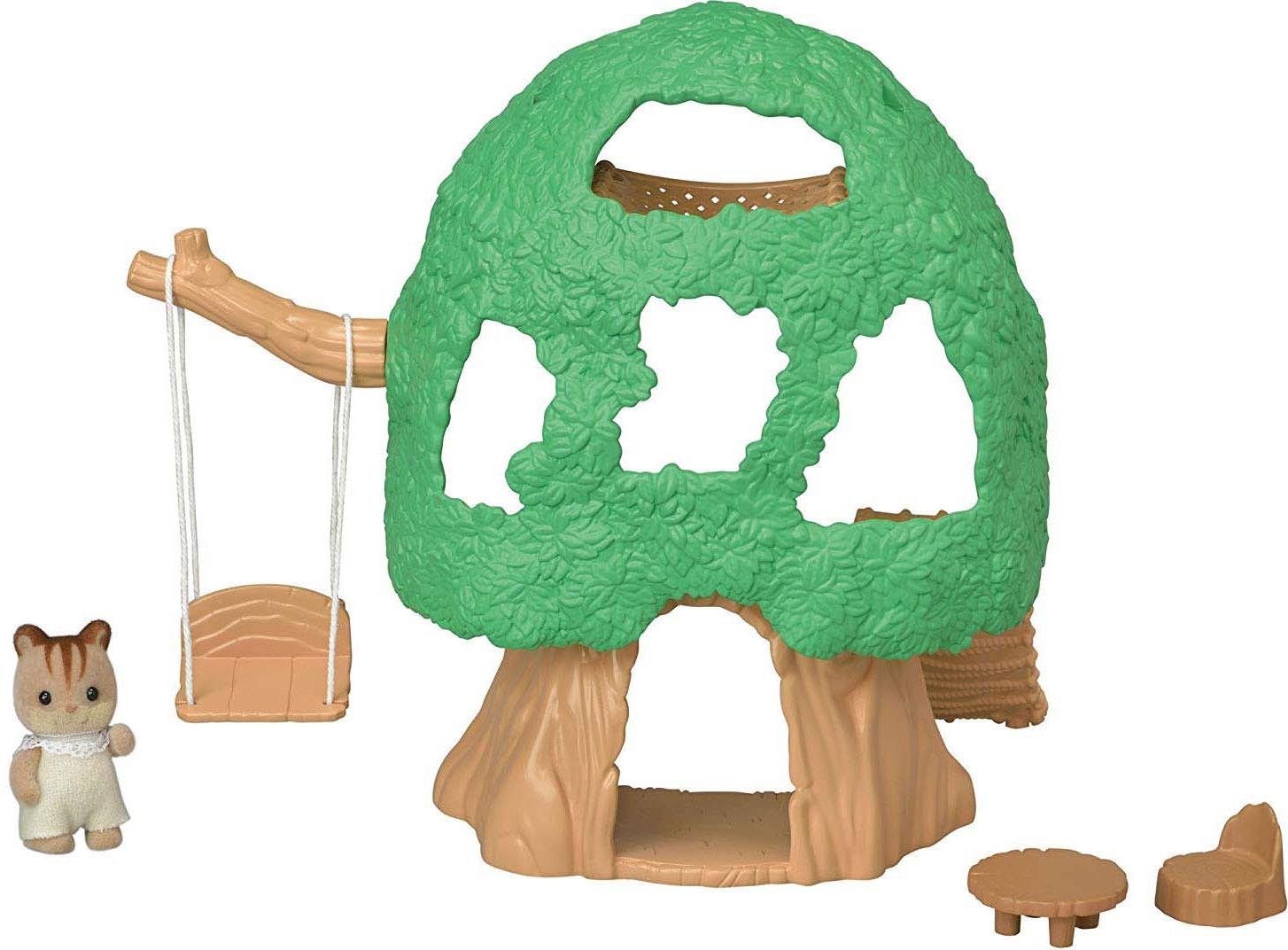 Набор Sylvanian Families Nursery Игровая площадка Домик на дереве