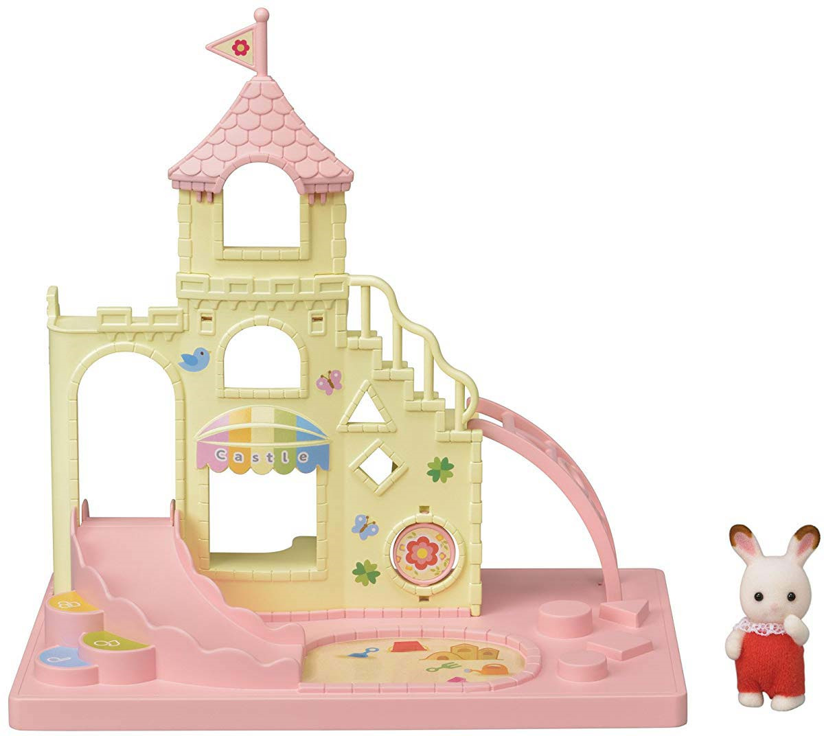Набор Sylvanian Families Nursery Игровая площадка Замок