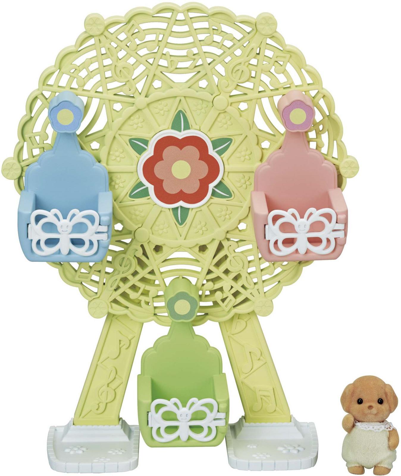 Набор Sylvanian Families Nursery Игровая площадка Колесо обозрения