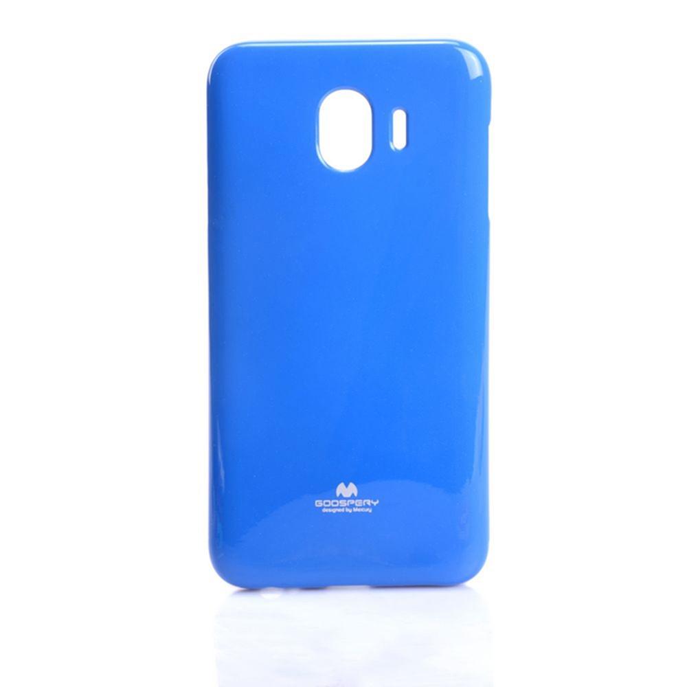 """Чехол для сотового телефона Goospery Samsung J4 Накладка """"Mercury"""" Jelly Case ламинированный силикон, синий"""