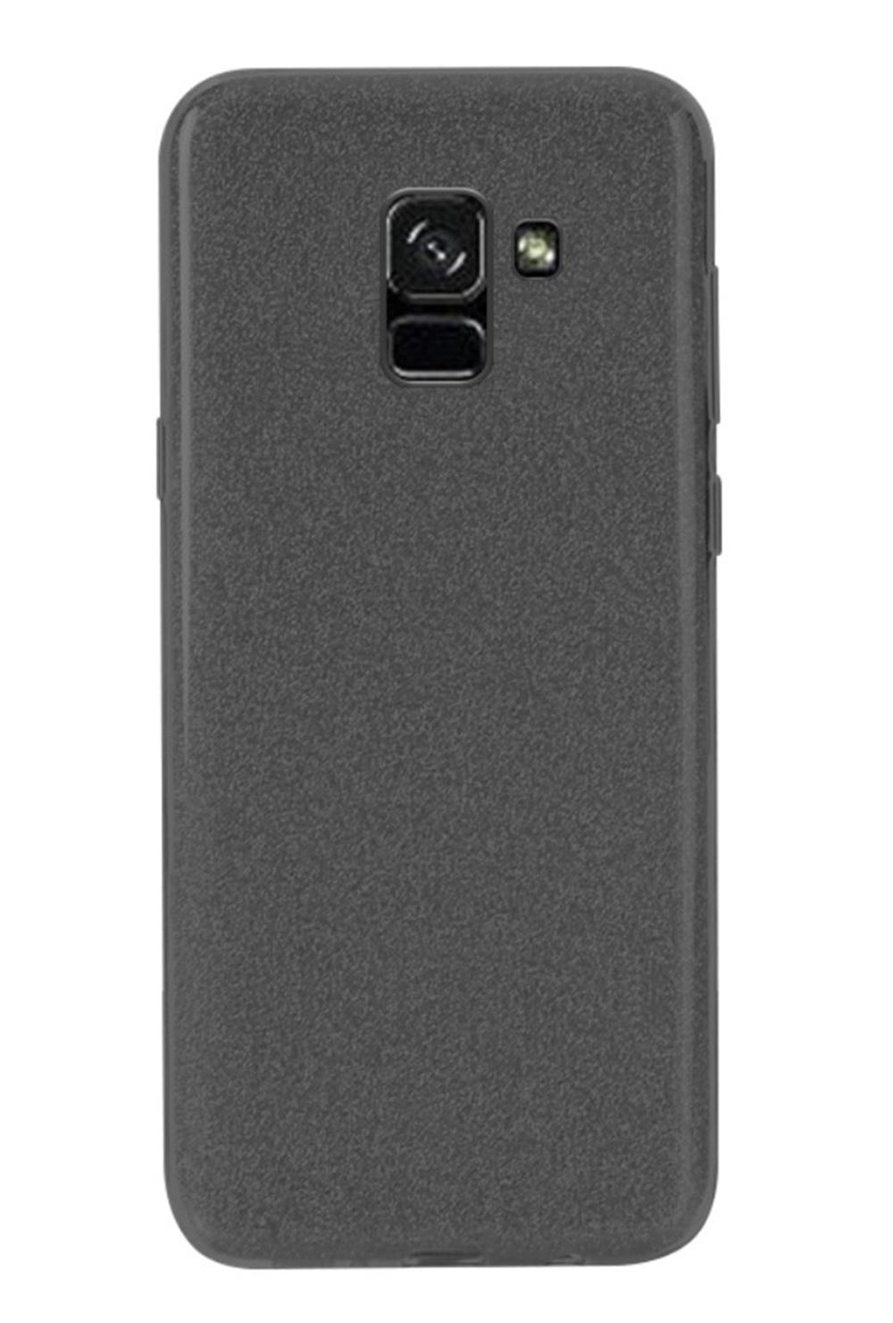 Чехол для сотового телефона Мобильная мода Samsung A8 Plus 2018 Накладка, NXE Glittery Powder PC + TPU, черный, 1527, черный