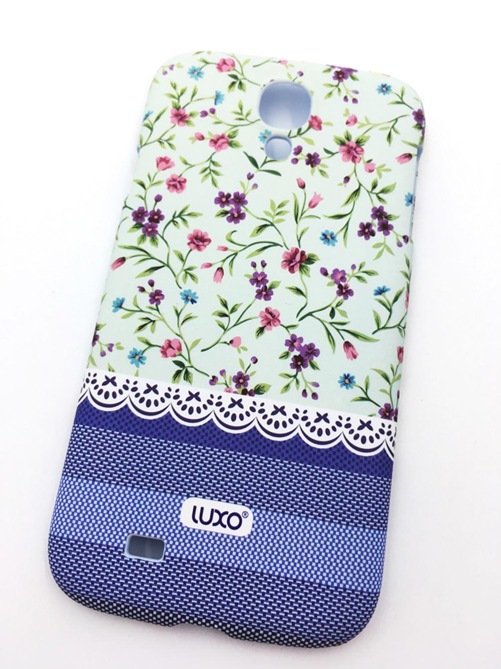 Чехол для сотового телефона Мобильная мода Samsung S4 Накладка LUXO пластиковая с нескользящим покрытием (Beautiful Flowers), 10408