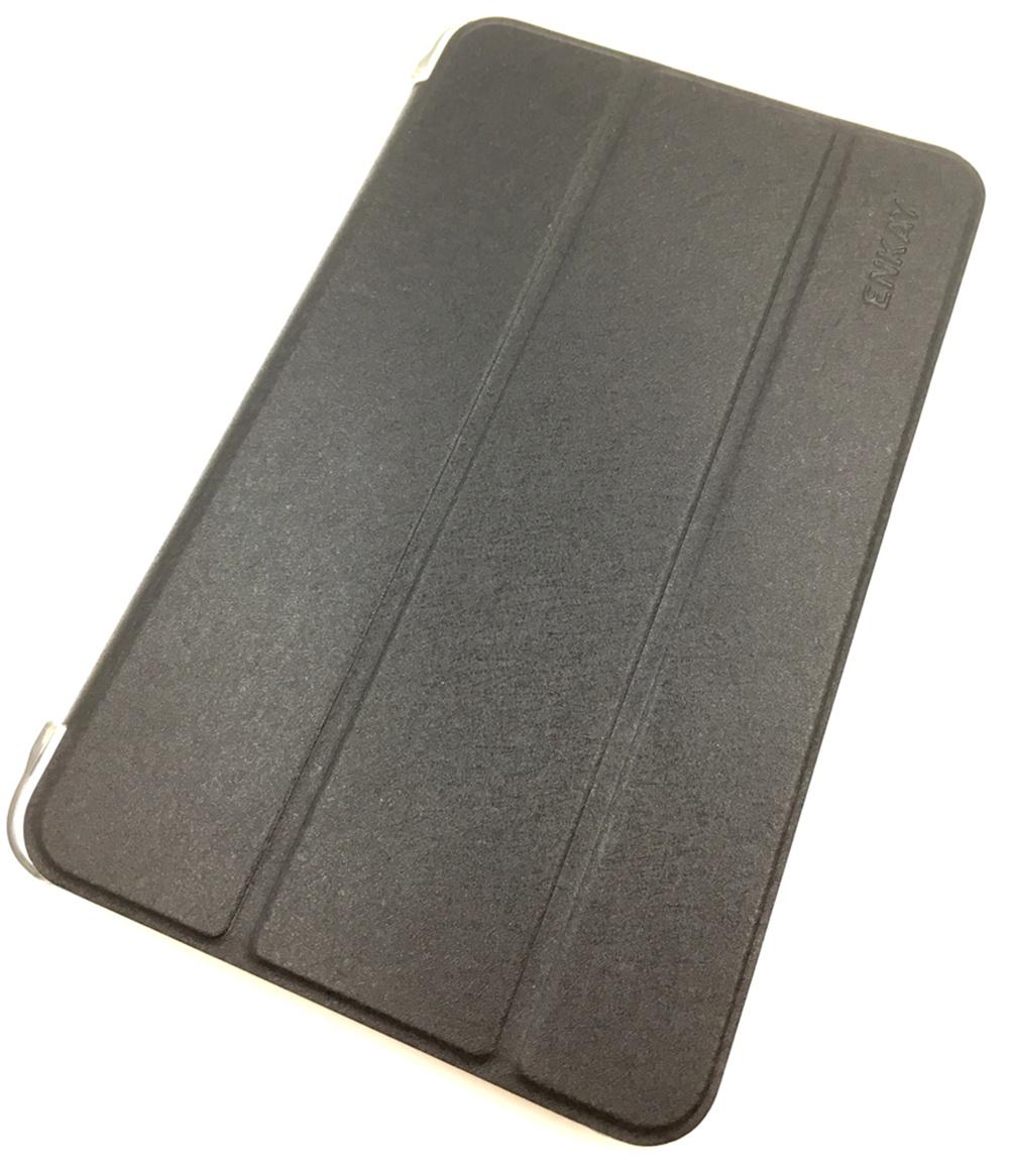Чехол для планшета Мобильная мода Samsung Tab E 8.0 T375/T377 Чехол-книжка Enkay, Leather Case, 13936, черный