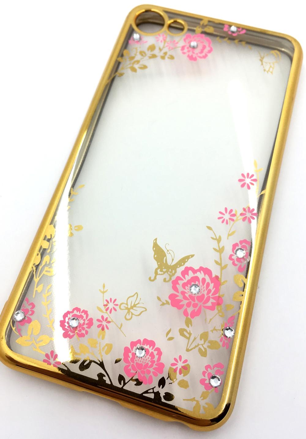 Чехол для сотового телефона Мобильная мода Meizu U10 Силиконовая, прозрачная накладка со стразами, 6366G, золотой чехол для сотового телефона мобильная мода meizu pro 6 силиконовая прозрачная накладка со стразами 6371g золотой