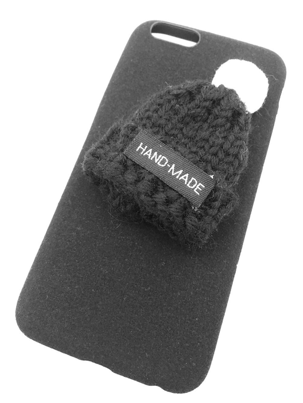 Чехол для сотового телефона Мобильная мода iPhone 6/6S Накладка с вязанной шапочкой, 6452C, черный мам всесезонная накидка для слингоношения с шапочкой для малыша 4 season cover оливковый черный 12239956