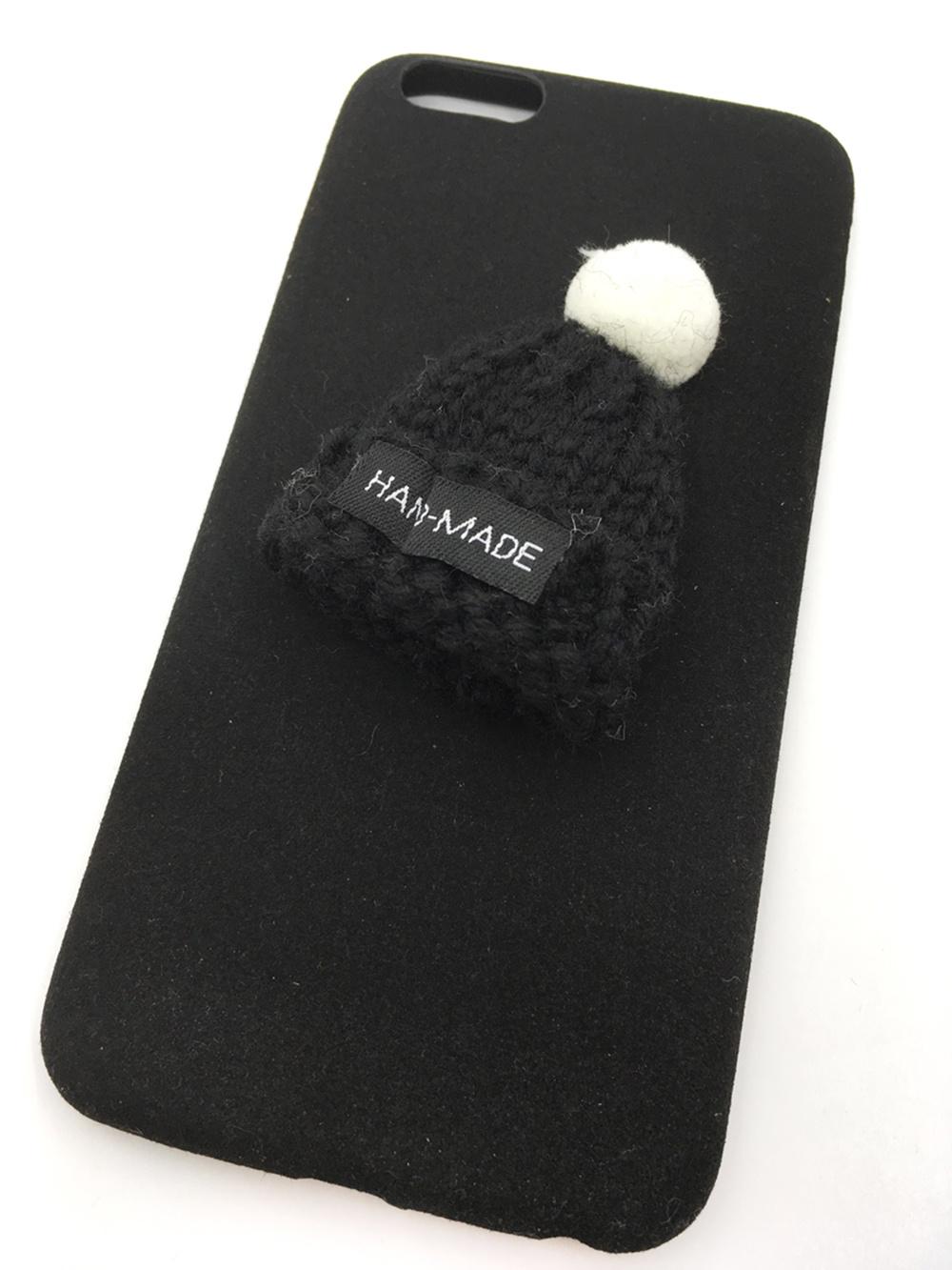 Чехол для сотового телефона Мобильная мода iPhone 6/6S Plus Накладка пластиковая с вязанной шапочкой, 7000B, черный боди с шапочкой doomagic