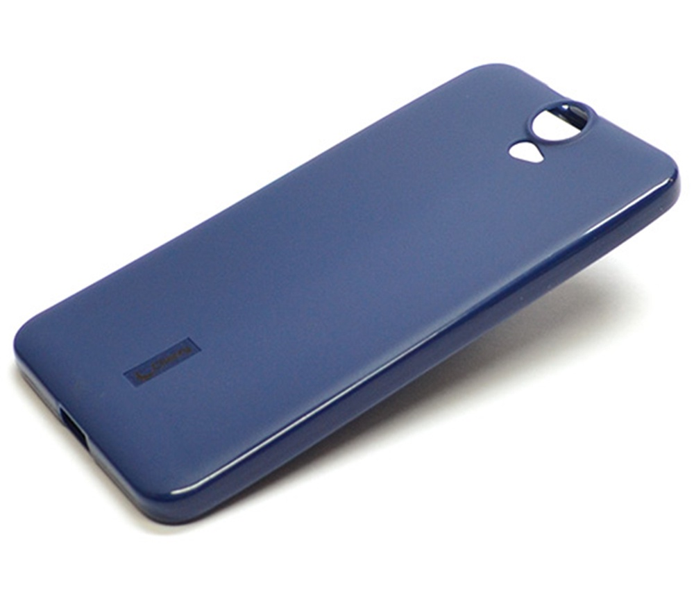 Чехол для сотового телефона Cherry HTC ONE E9 plus Накладка резиновая с пленкой на экран Cherry, CRR-102, синий цена