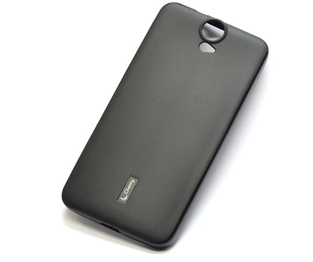 Чехол для сотового телефона Cherry HTC ONE E9 plus Накладка резиновая с пленкой на экран Cherry, CRR-103, черный цена