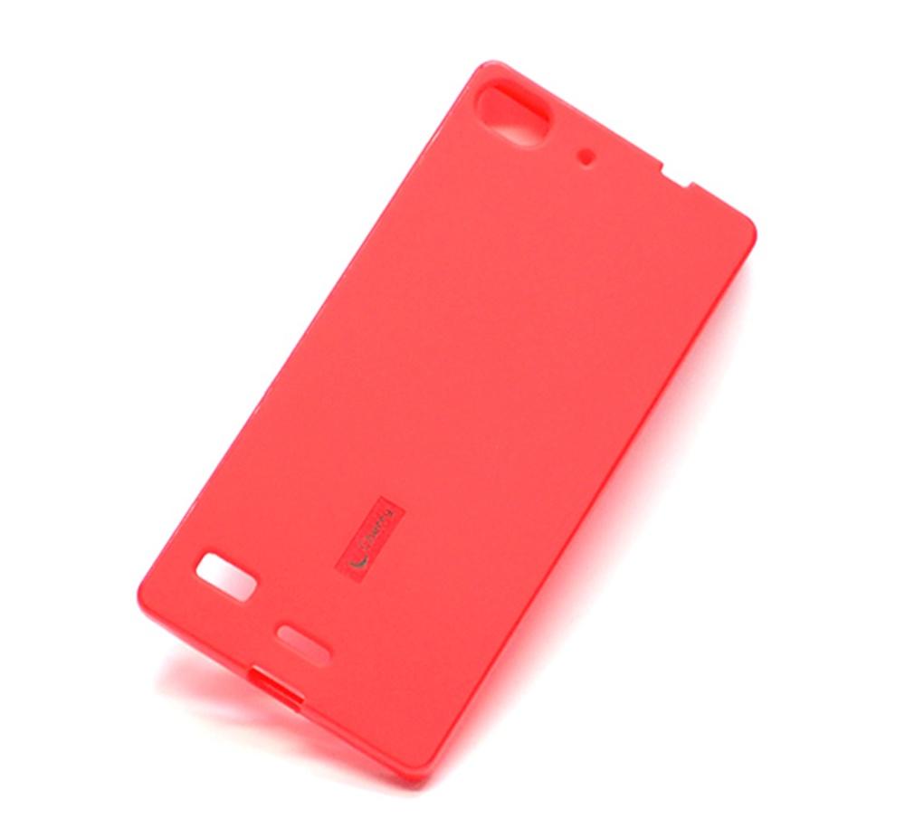 Чехол для сотового телефона Cherry Lenovo VIBE X2 Накладка резиновая с пленкой на экран, красный для lenovo vibe x2 pro стекло экран протектор фильм для lenovo vibe x2 pro стекло экран прот