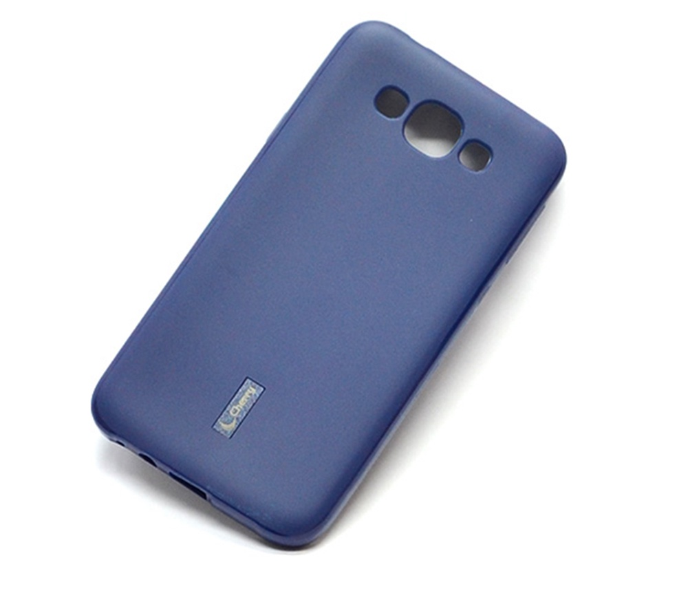 Чехол для сотового телефона Cherry Samsung E7/E700, синий чехол для для мобильных телефонов jemeiy acer e700 10patterns acer e700