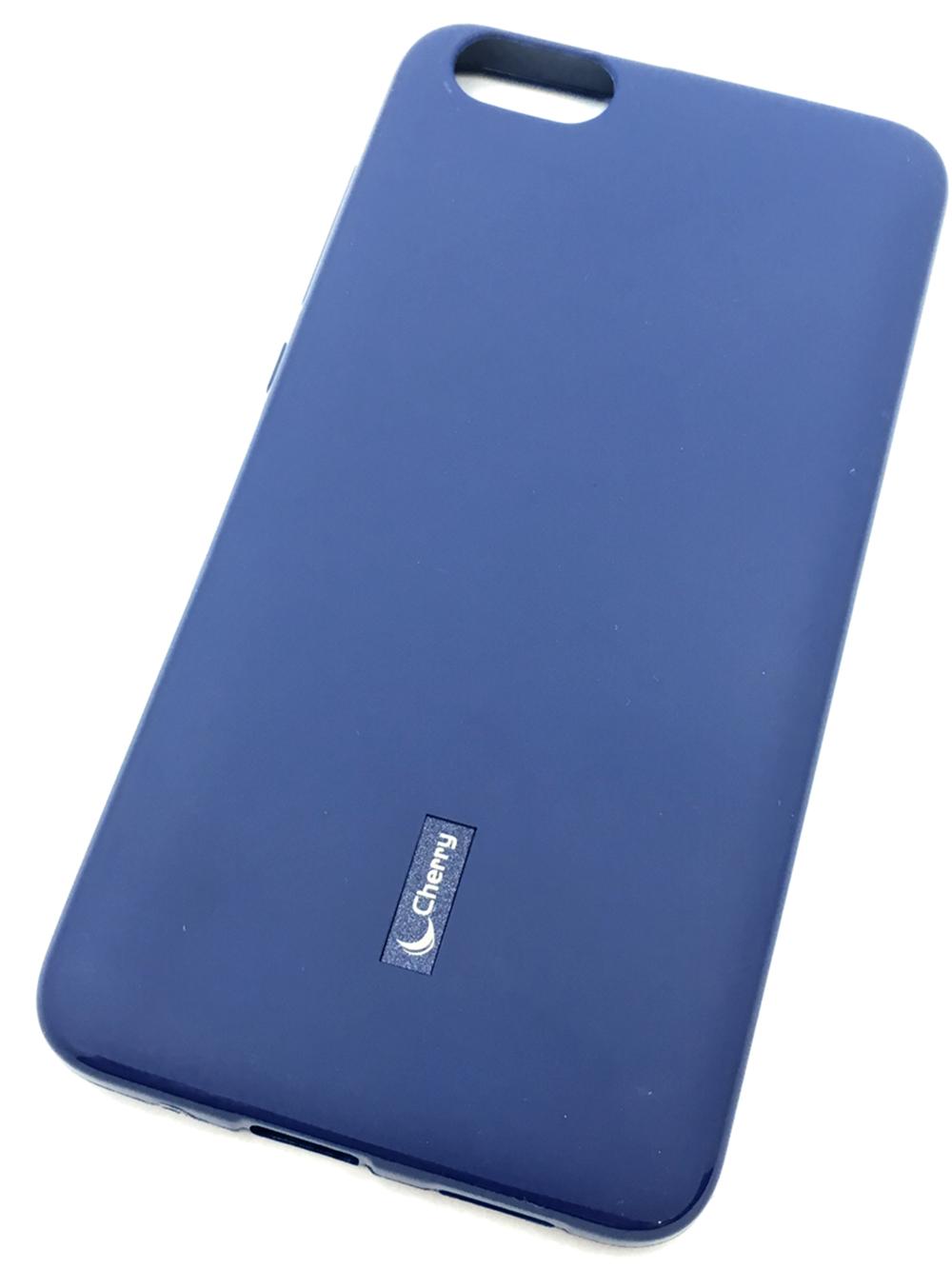 Чехол для сотового телефона Cherry Huawei Honor 4X Накладка резиновая с пленкой на экран, синий аксессуар чехол накладка huawei ascend g620 cherry white 8283