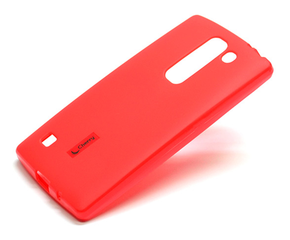 Чехол для сотового телефона Cherry LG H440/Spirit, красный