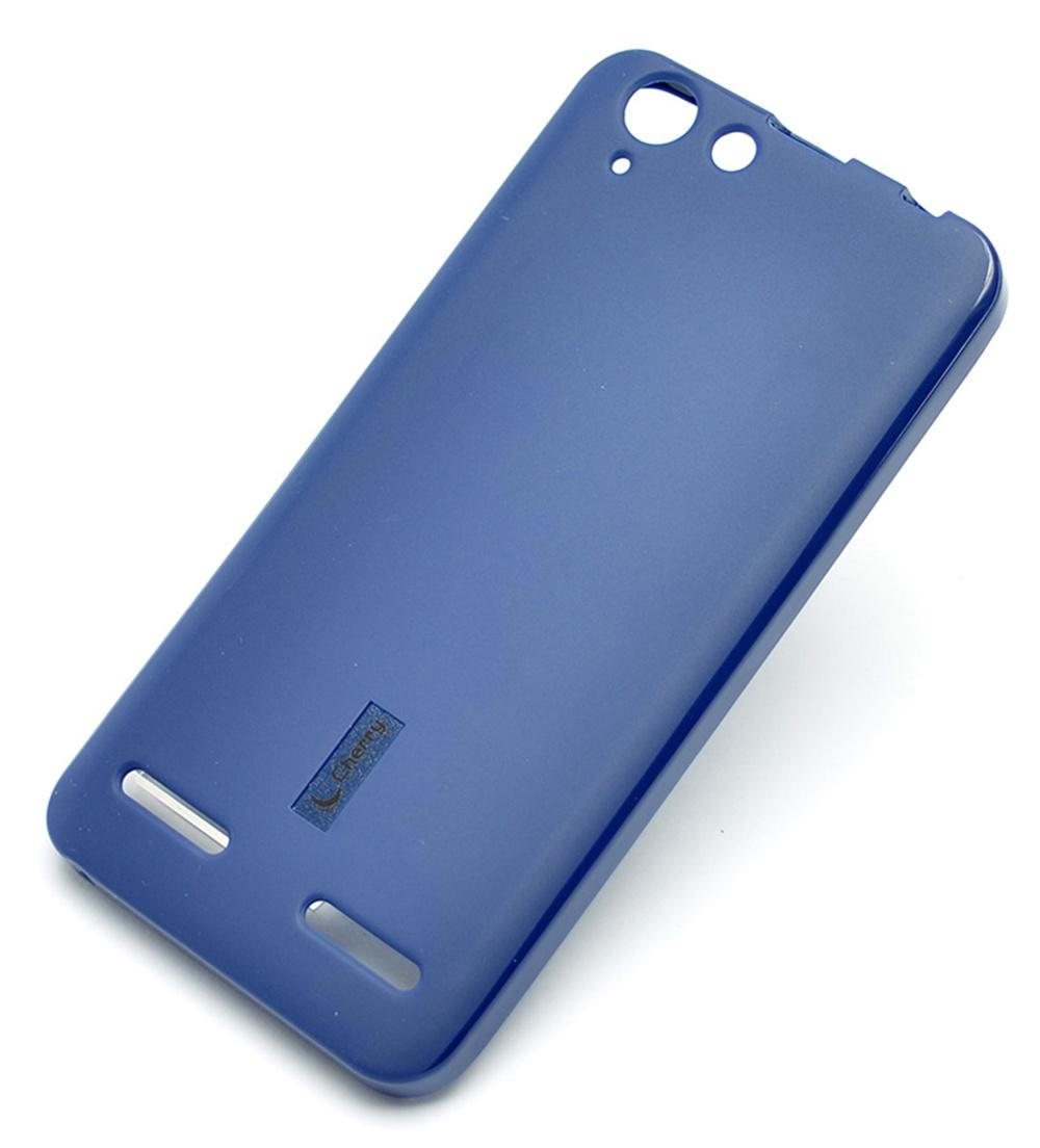Чехол для сотового телефона Cherry Lenovo A6020 K5 plus, синий