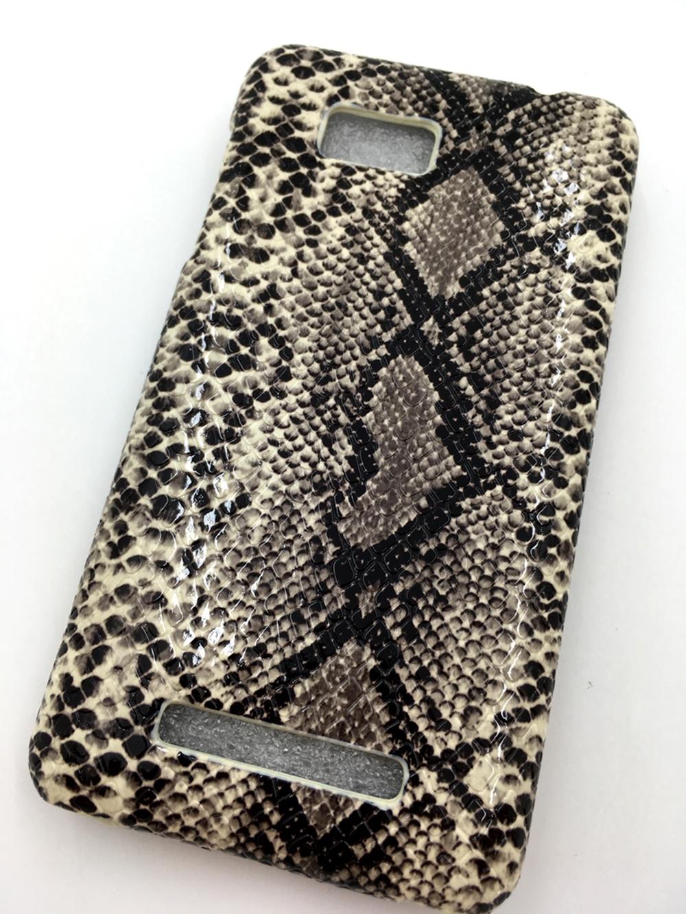 Чехол для сотового телефона Мобильная Мода HTC desire 400 dual sim Флип-Книжка вертикальная, защелка, крокодил