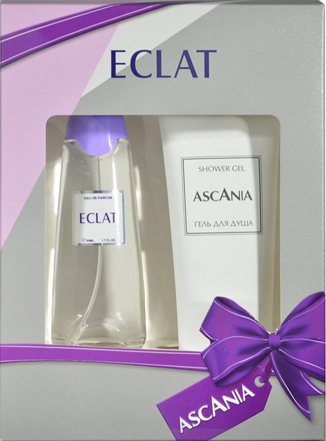 Парфюмированный набор Ascania Eclat Туалетная вода, 50 мл + Гель для душа, 125