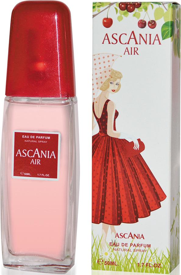 Парфюмерная вода Ascania Air, 50 мл80030739Ascania Air - изящный, яркий, весенний, чувственный аромат.