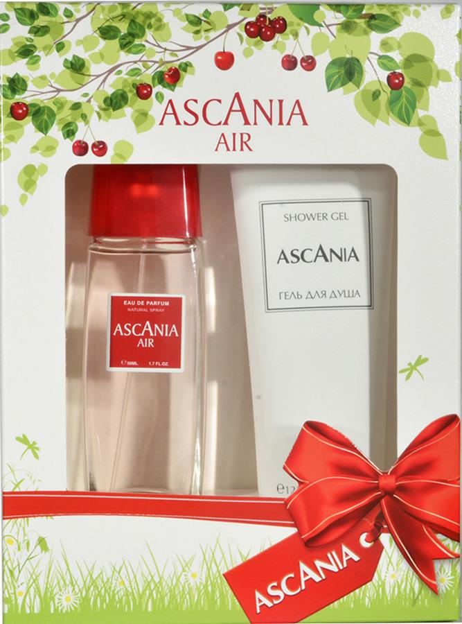 Парфюмированный набор Ascania Air Туалетная вода, 50 мл + Гель для душа, 125