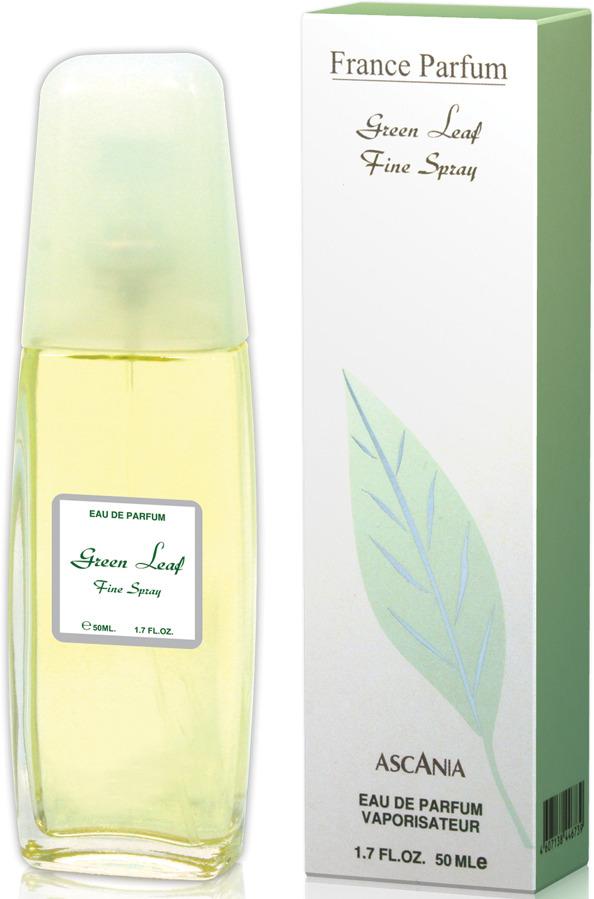 Ascania Green Leaf 50 мл green leaf print halter lace up design backless swimwear