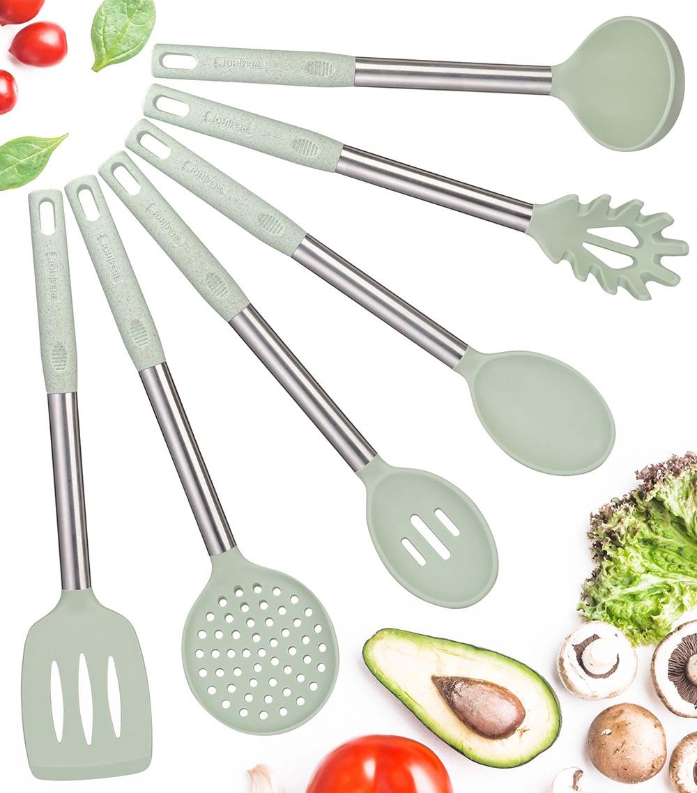 Кухонный набор REMIHOF CORNY Набор кухонных принадлежностей, зеленый