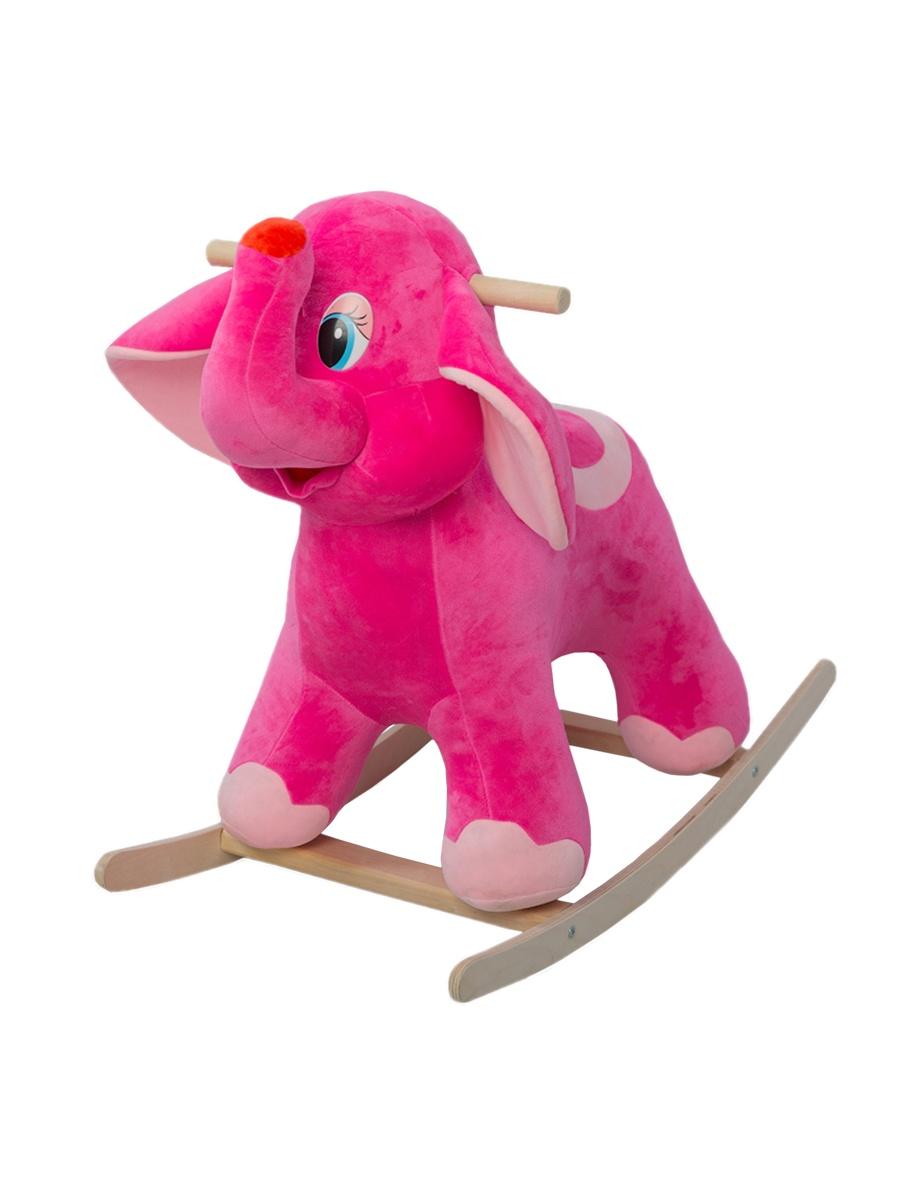 Качалка ToysGo.ru Слоник розовый