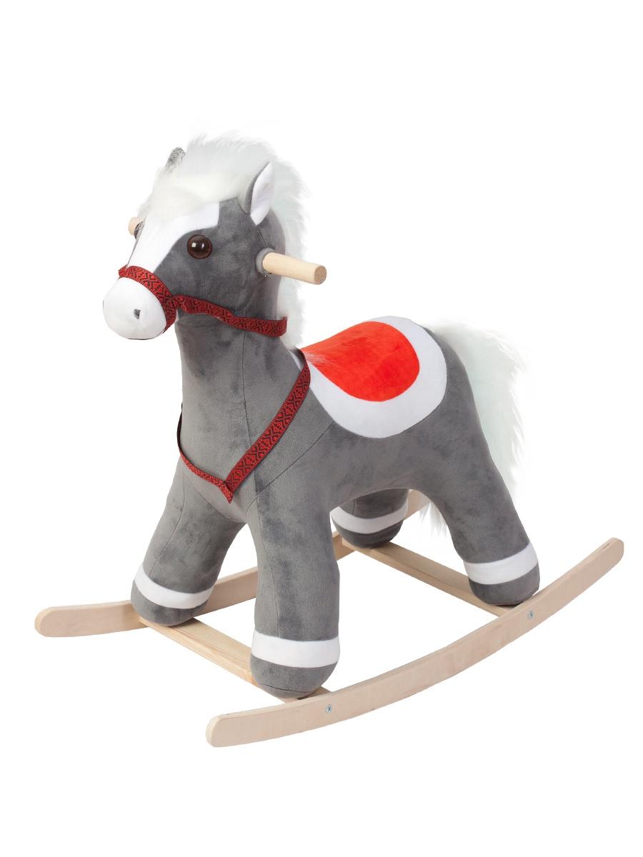 Качалка ToysGo.ru Лошадка серый
