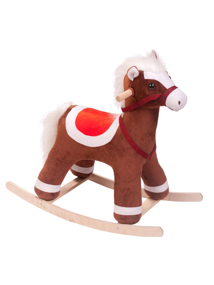 Качалка ToysGo.ru Лошадка коричневый (590)