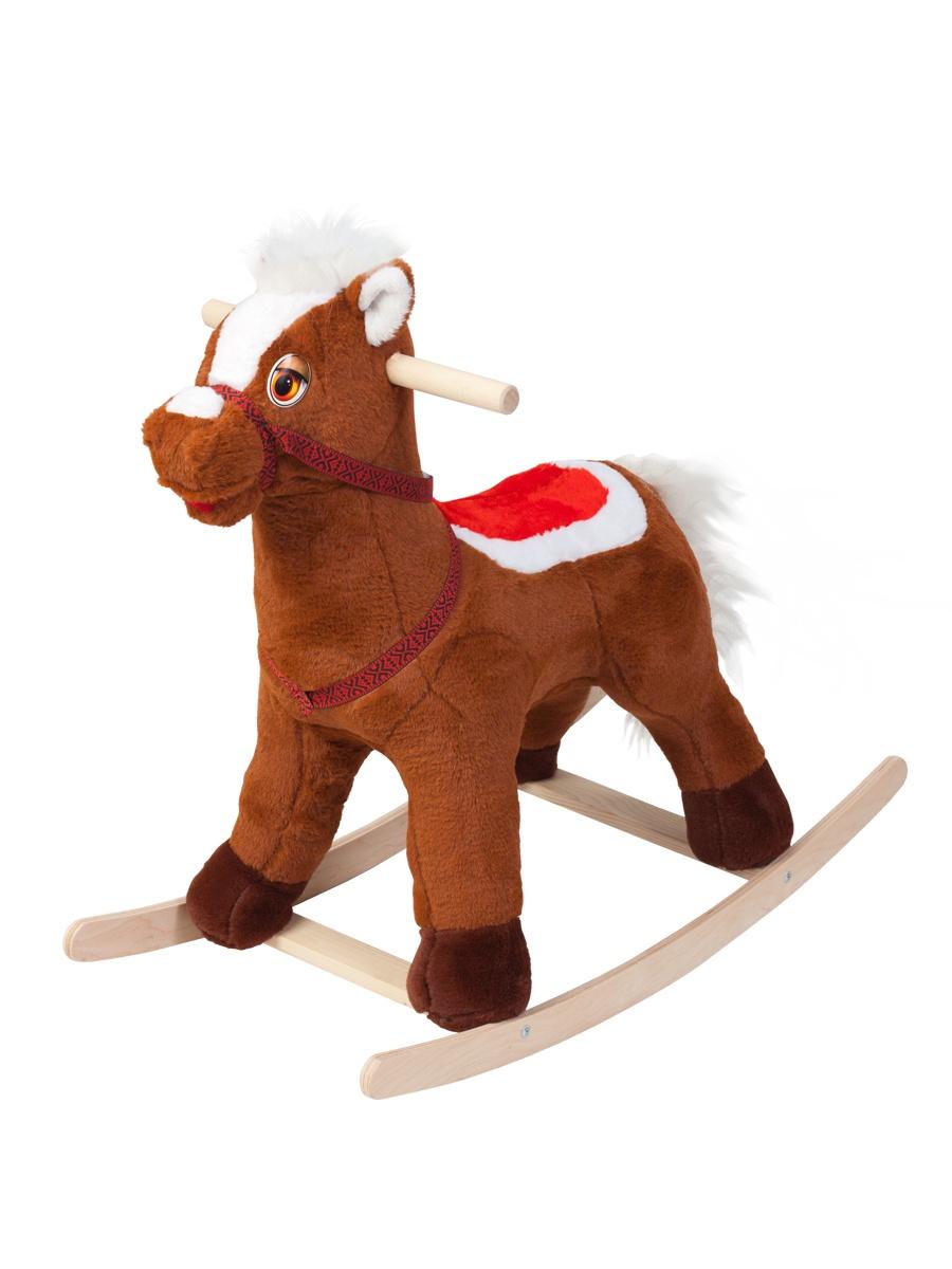 Качалка ToysGo.ru Лошадка коричневый