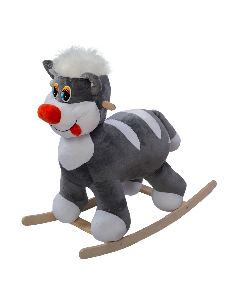 Качалка ToysGo.ru Котик серый