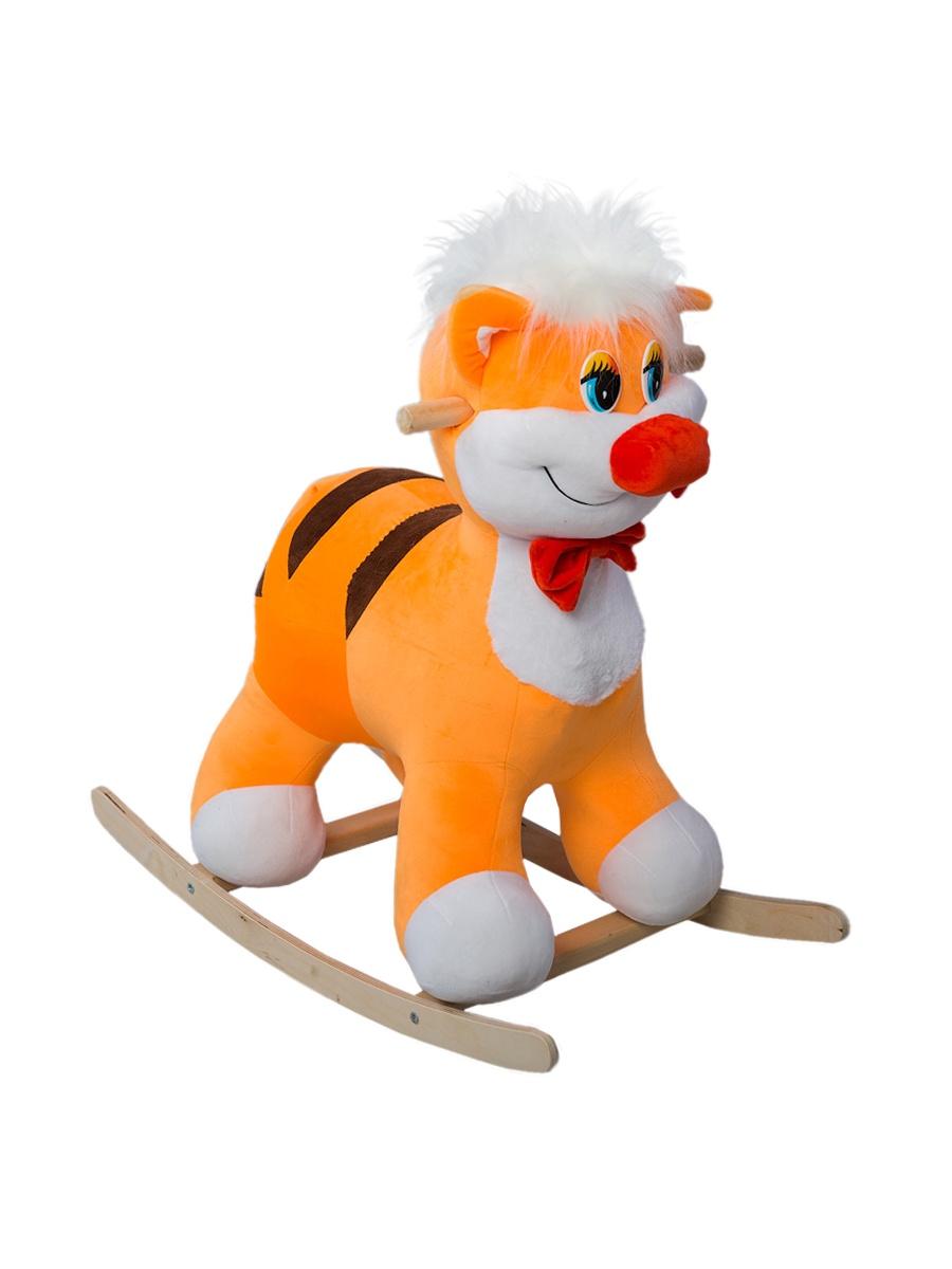 Качалка ToysGo.ru Котик оранжевый